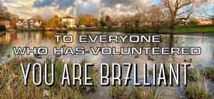 BR7LLIANT volunteers