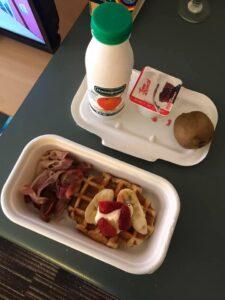Breakfast delivered to my door