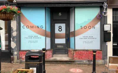 Opening soon! Otto Ottima Pizzeria