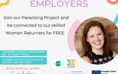 GLA Funding – Do you support Women Returners?